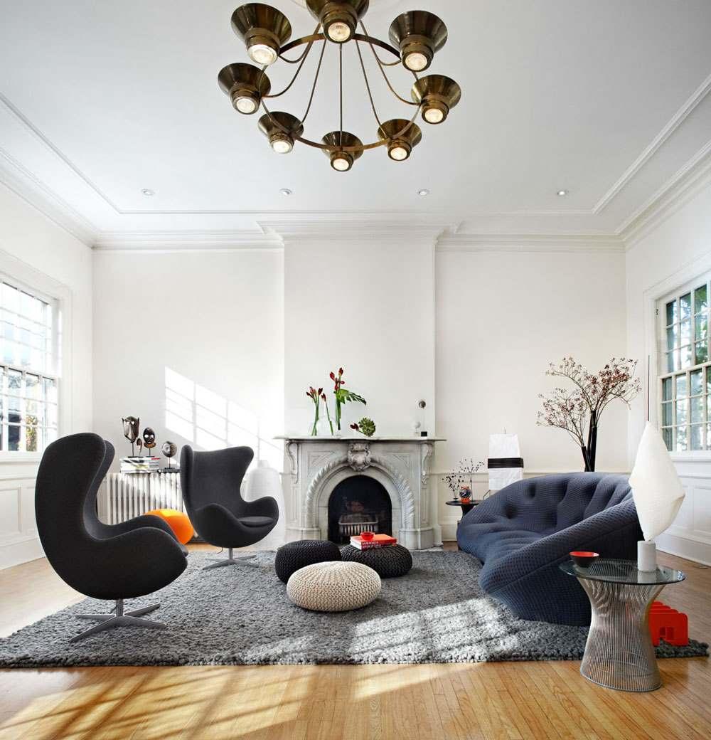 30 стильных интерьеров современных гостиных5