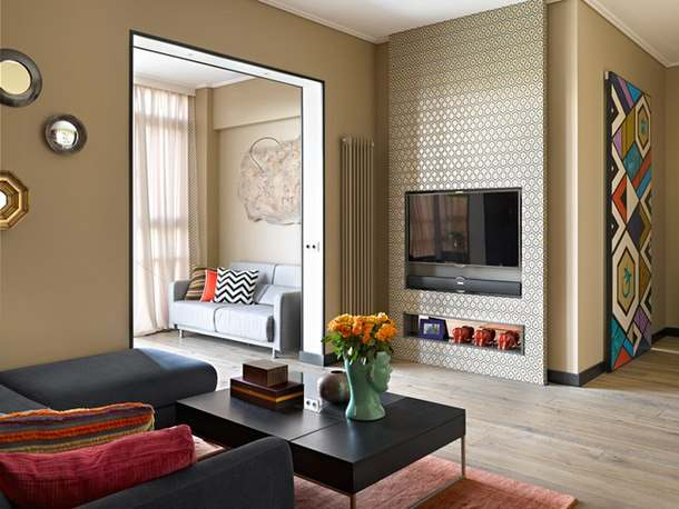 Интерьер двухкомнатной квартиры 90 квадратных метров2