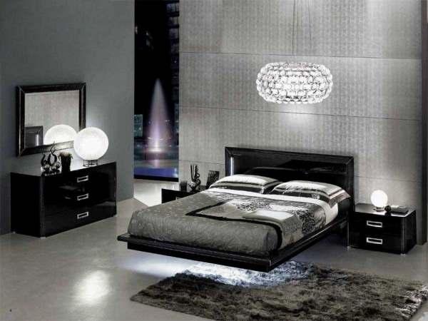 Интерьер современной спальни фото1