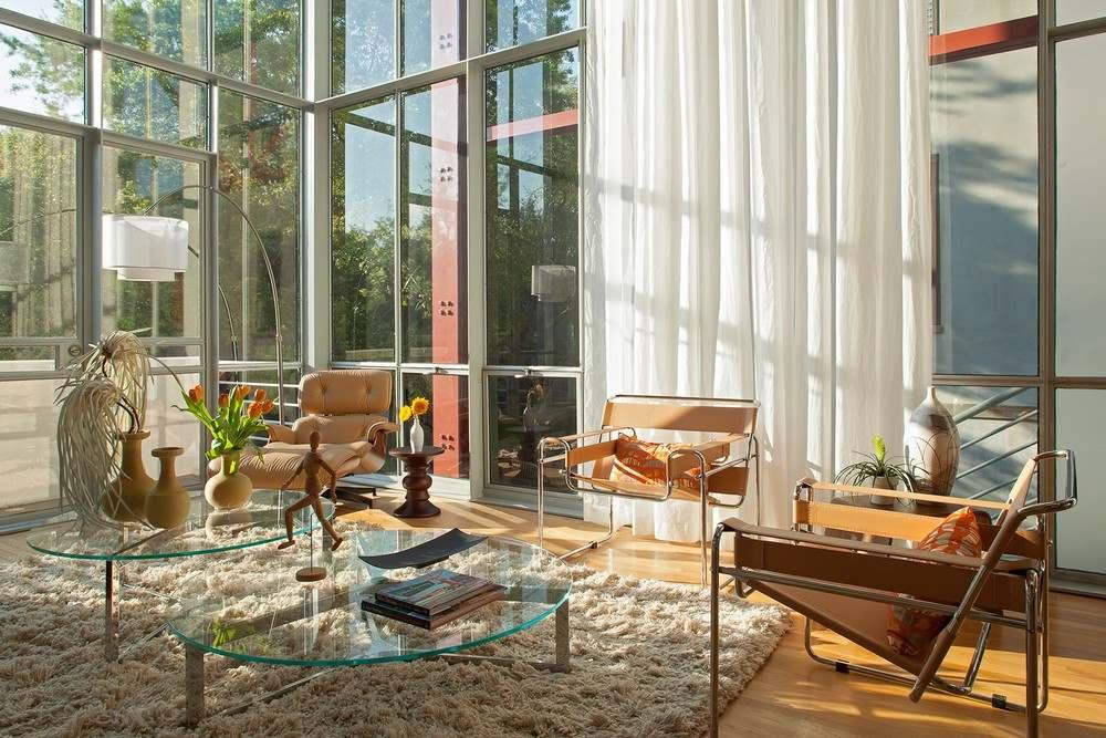 Интерьер трехэтажного загородного дома во Флориде4