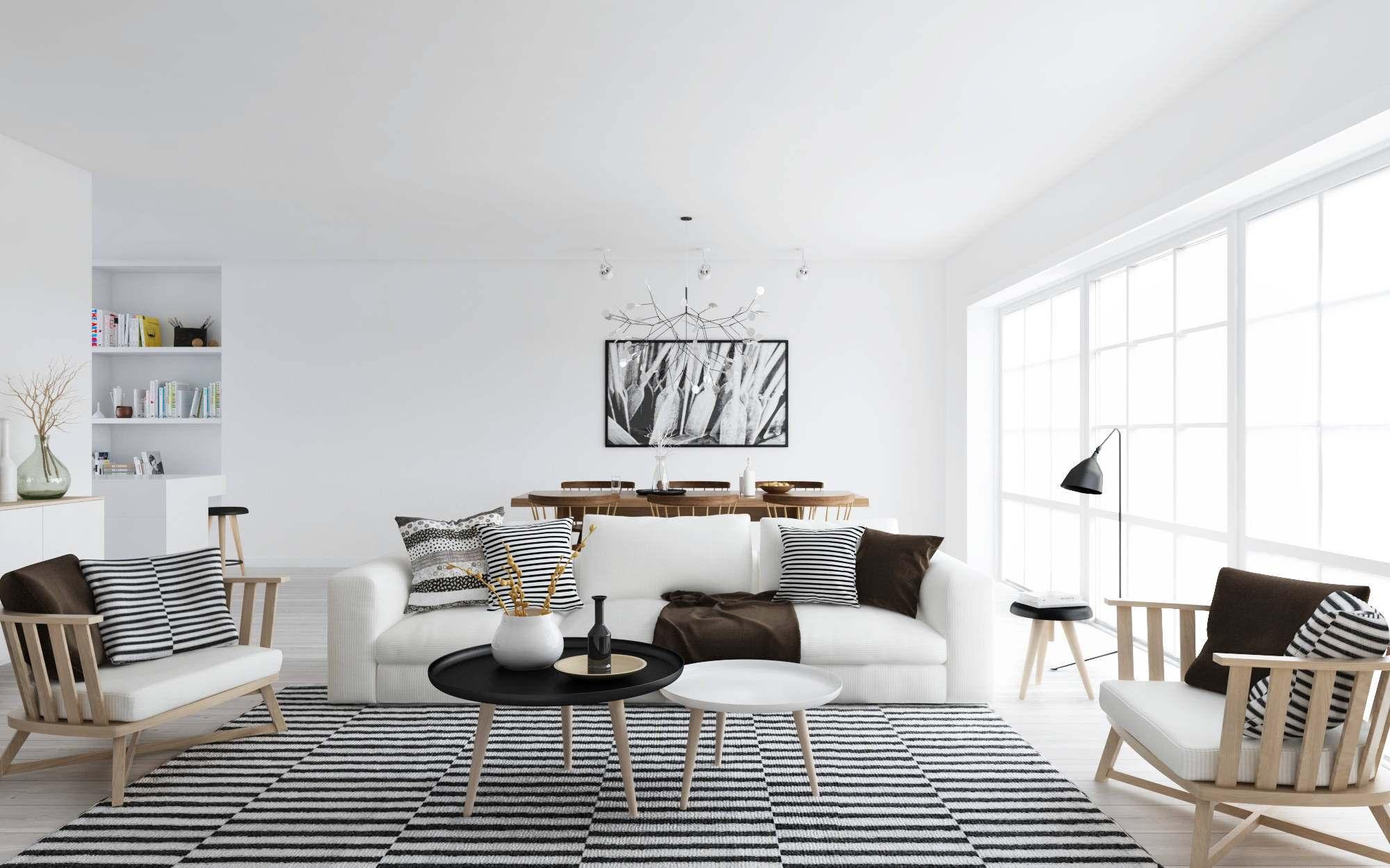 Дизайн скандинавском стиле