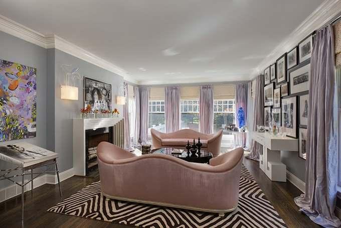 современный интерьер Нью-Йоркской квартиры