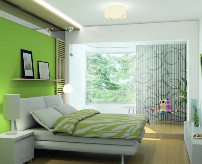 зеленый цвет в дизайне интерьера1