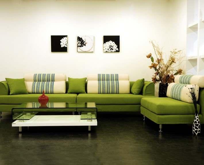 зеленый цвет в дизайне интерьера2