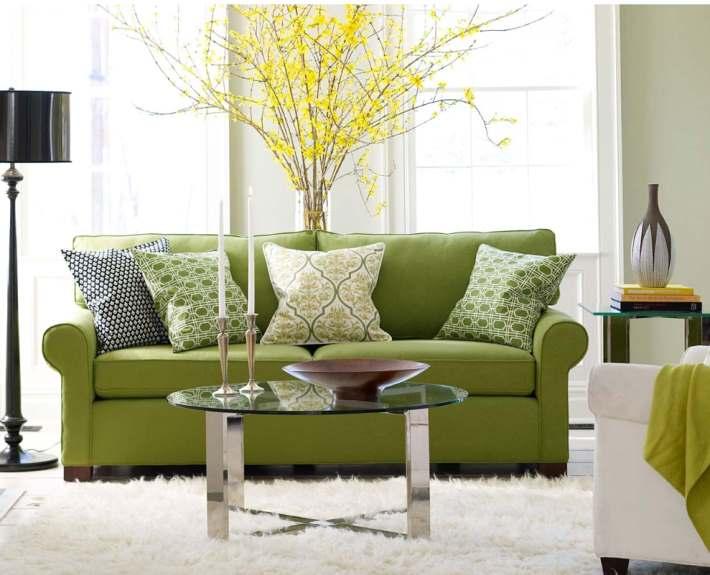 зеленый цвет в дизайне интерьера6