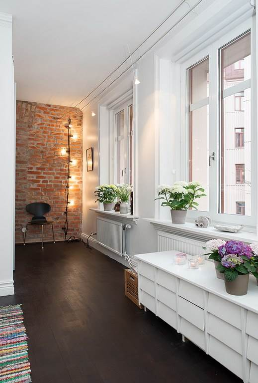Интерьер небольшой уютной квартиры в скандинавском стиле1