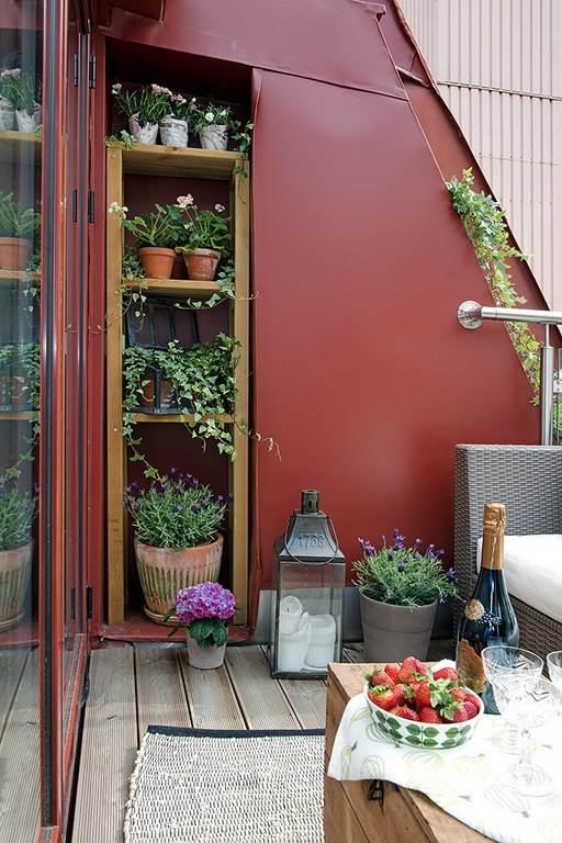 Интерьер небольшой уютной квартиры в скандинавском стиле3