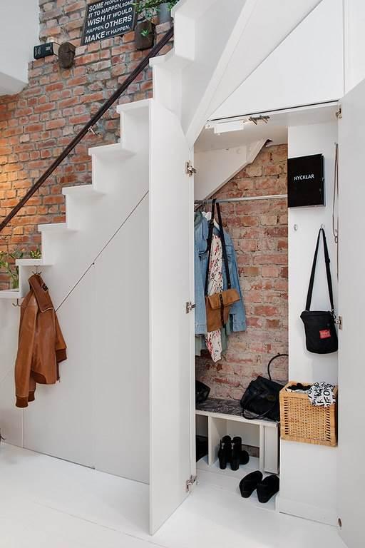Интерьер небольшой уютной квартиры в скандинавском стиле6