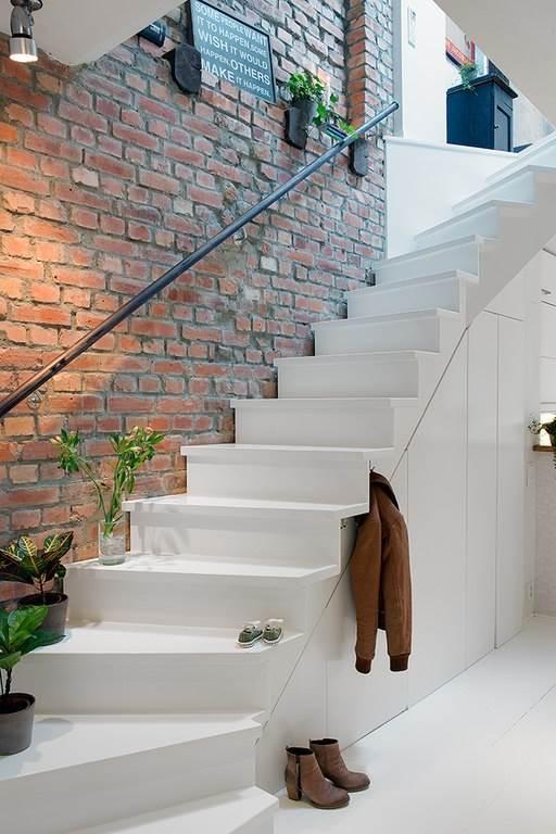 Интерьер небольшой уютной квартиры в скандинавском стиле7