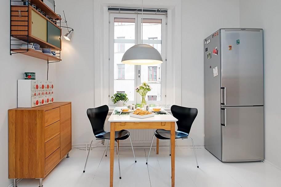 Интерьер небольшой уютной квартиры в скандинавском стиле8