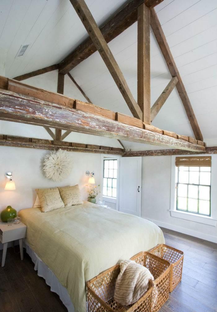 Спальня в эко стиле1