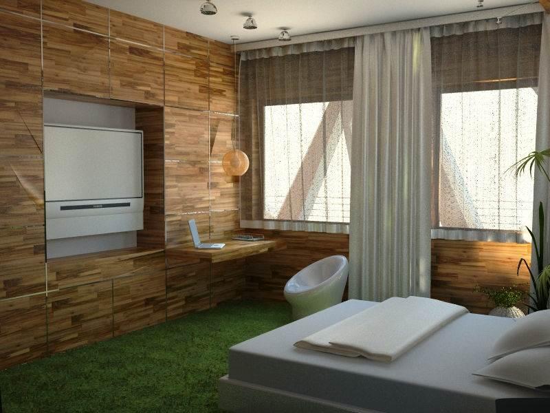 Спальня в эко стиле2