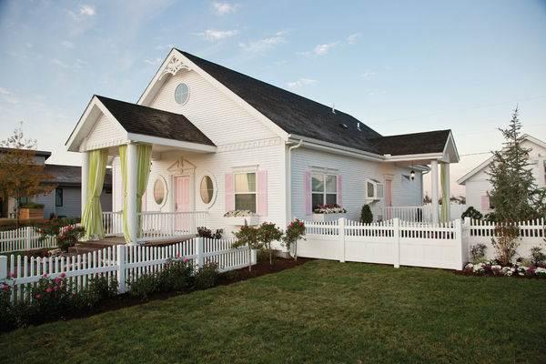 Цветовые схемы для фасада загородного дома10