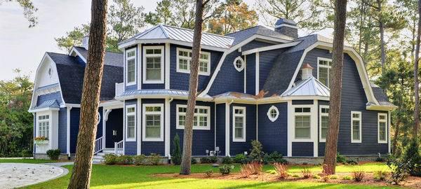 Цветовые схемы для фасада загородного дома13