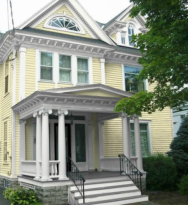 Цветовые схемы для фасада загородного дома2