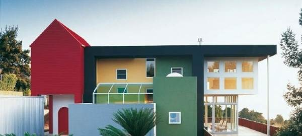 Цветовые схемы для фасада загородного дома3