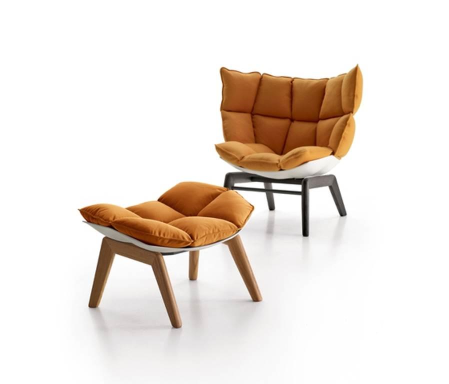 дизайнерское кресло Husk от B&B1