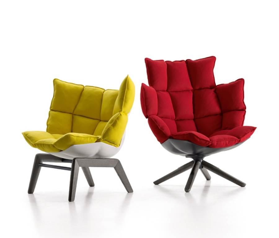 Дизайнерское кресло Husk от B&B для идеального отдыха