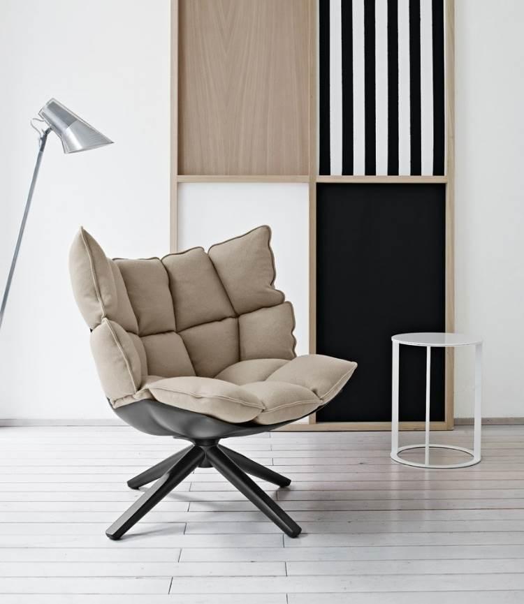 дизайнерское кресло Husk от B&B7