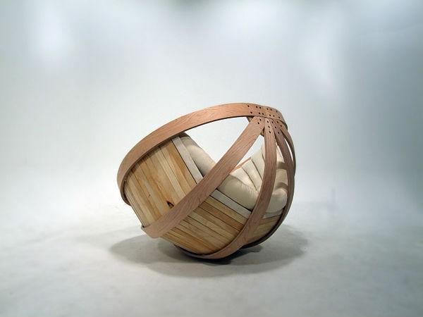 дизайнерское кресло - колыбель2