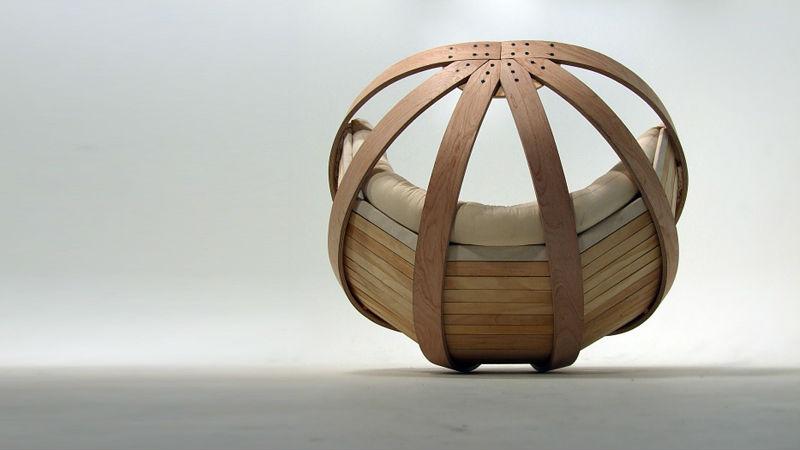 дизайнерское кресло - колыбель4