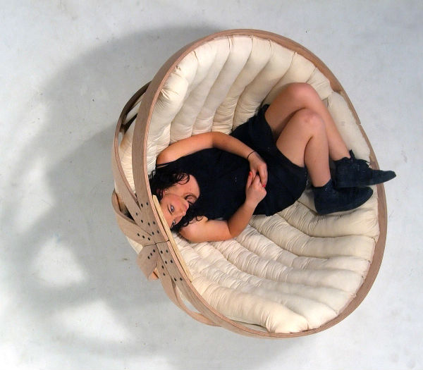 дизайнерское кресло - колыбель8