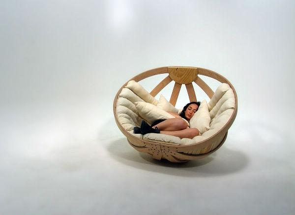 дизайнерское кресло - колыбель9