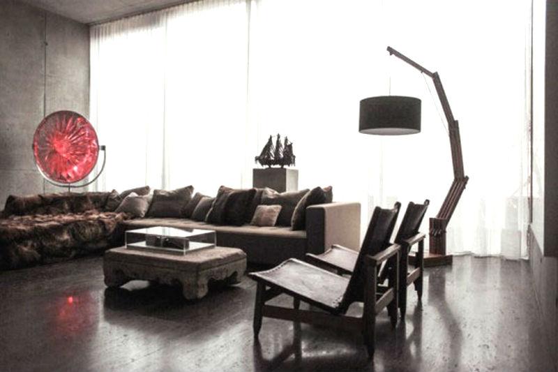 интерьер гостиной в японском стиле7