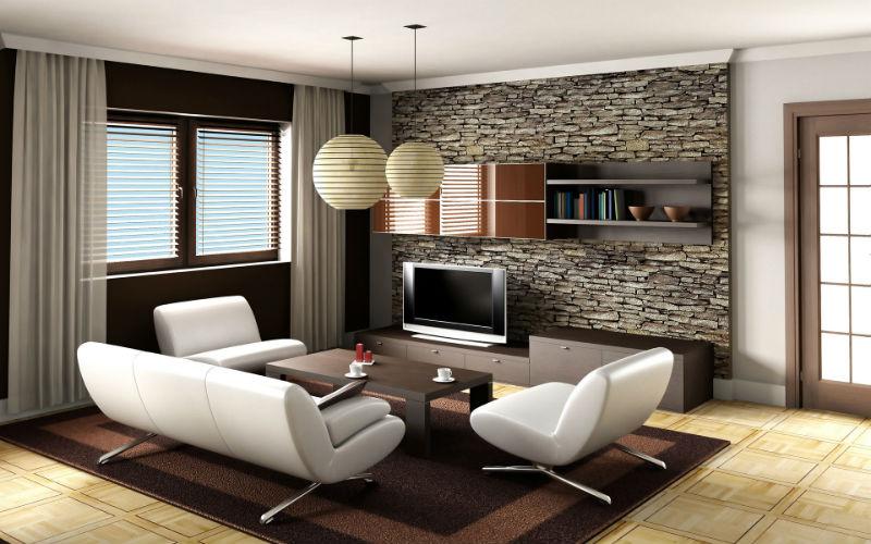 интерьер гостиной в японском стиле8