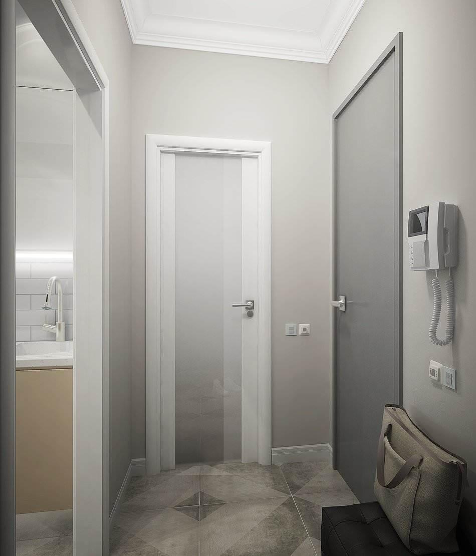 Дизайн маленькой двухкомнатной квартиры 33 кв.м. (1)