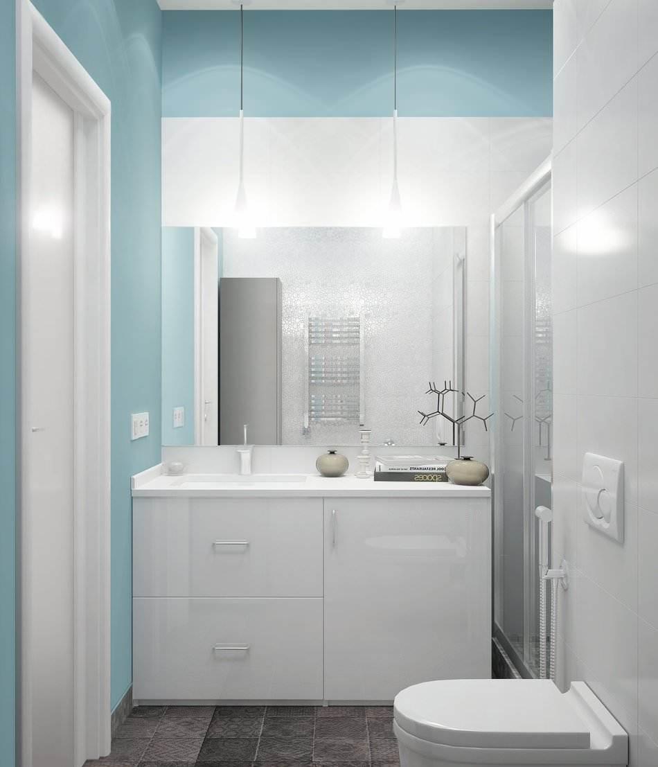 Дизайн маленькой двухкомнатной квартиры 33 кв.м. (4)