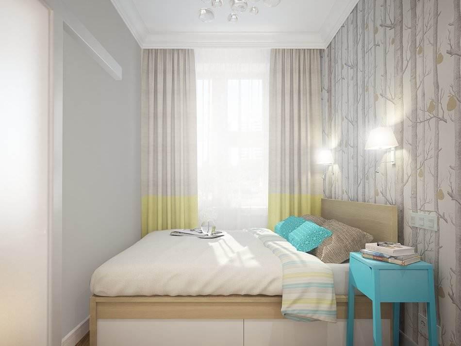 Дизайн маленькой двухкомнатной квартиры 33 кв.м. (7)