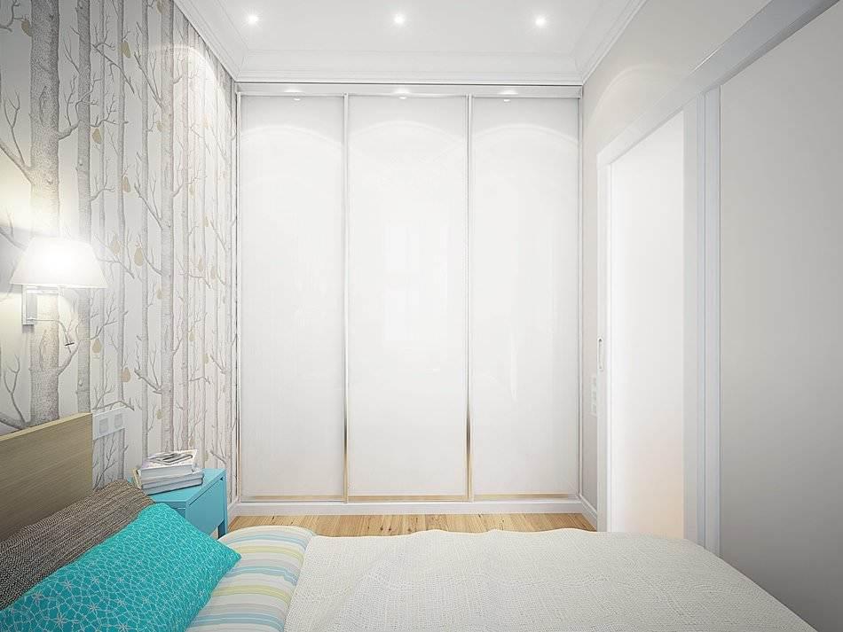 Дизайн маленькой двухкомнатной квартиры 33 кв.м. (9)