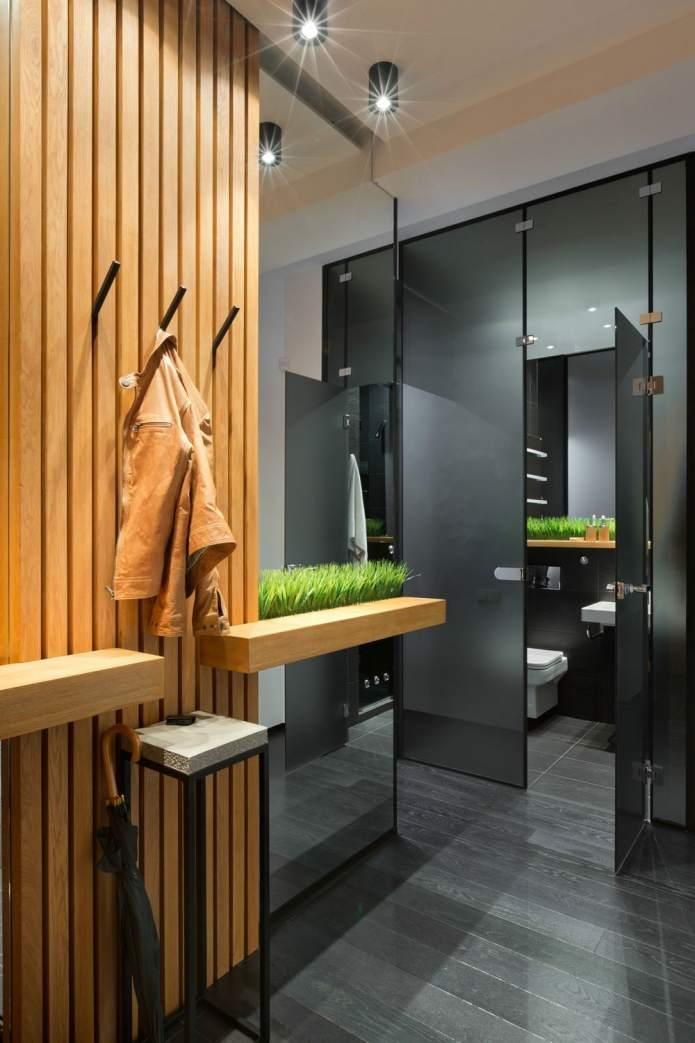 Интерьер квартиры 40 кв.м. в стиле лофт (8)