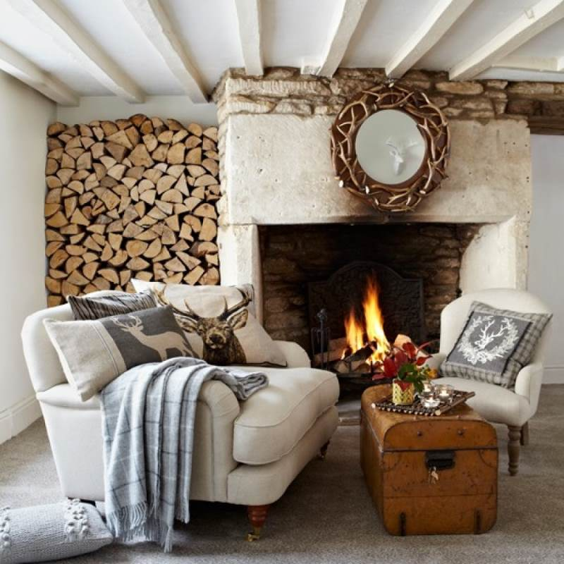 гостиная комната в скандинавском стиле (1)