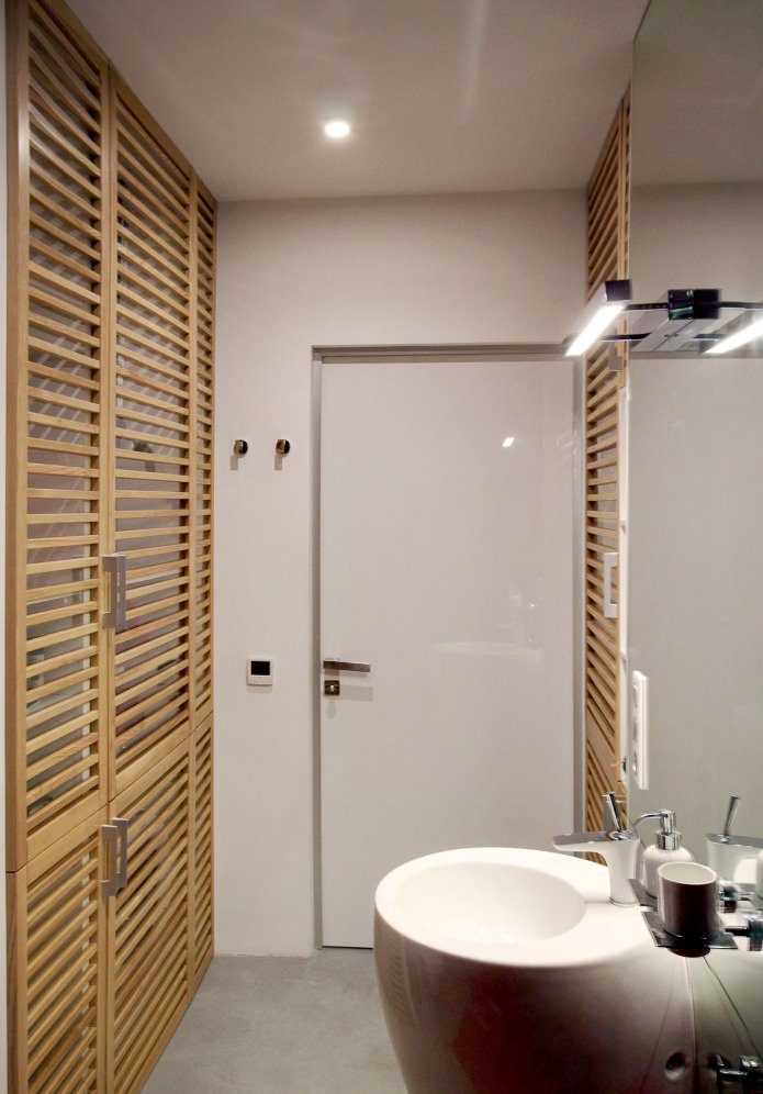 Дизайн квартиры 56 кв.м. в черно-бело-красной гамме (2)