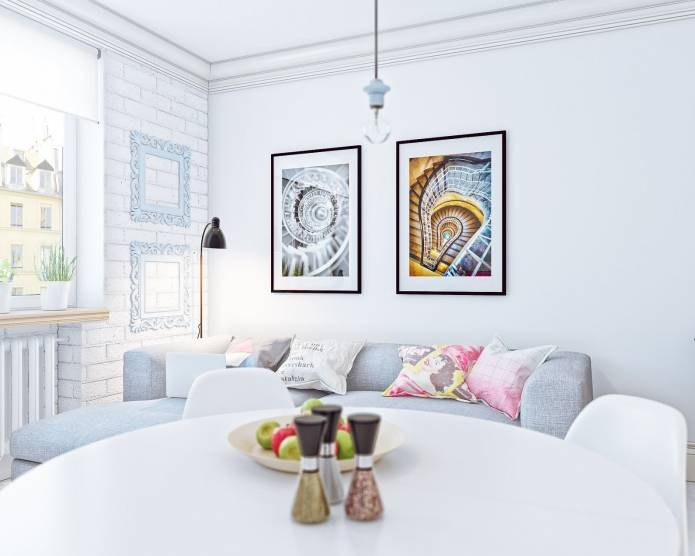 Интерьер маленькой квартиры-студии 24 кв. м. в скандинавском стиле (4)