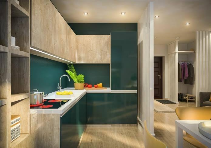 Интерьер двухкомнатной квартиры, площадью 42 кв.м (3)