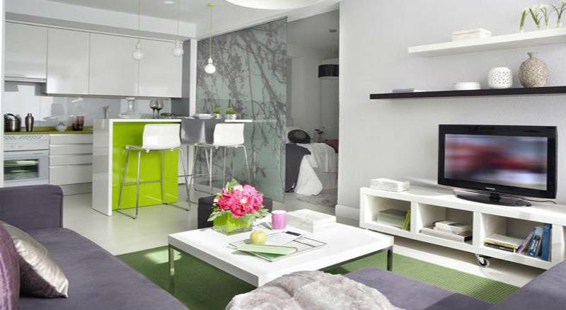 Перепланировка квартиры студии 40 кв