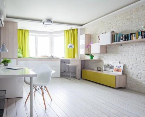 Современная квартира площадью 42 кв.м. в минималистичном стиле (10)