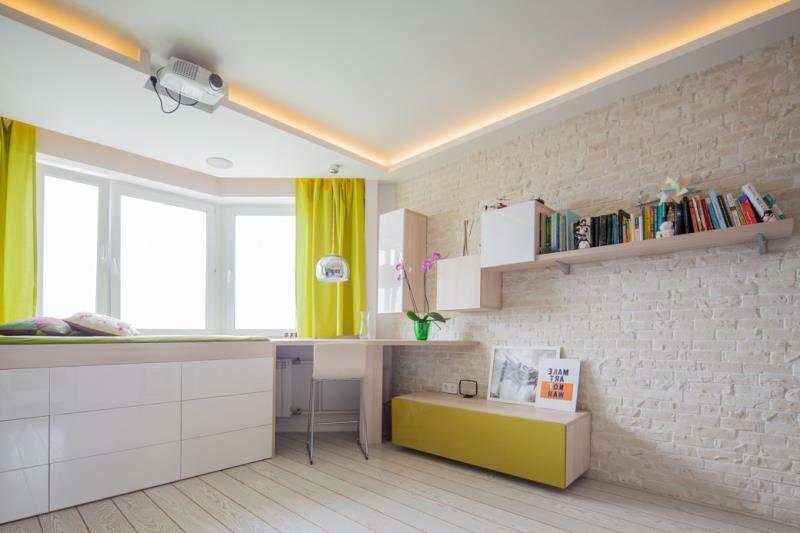 Современная квартира площадью 42 кв.м. в минималистичном стиле (11)