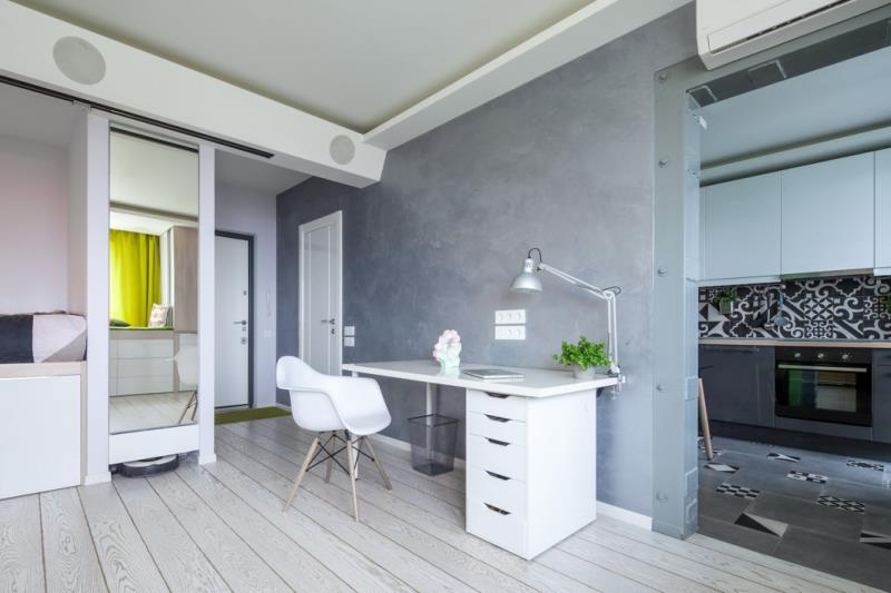 Современная квартира площадью 42 кв.м. в минималистичном стиле (12)