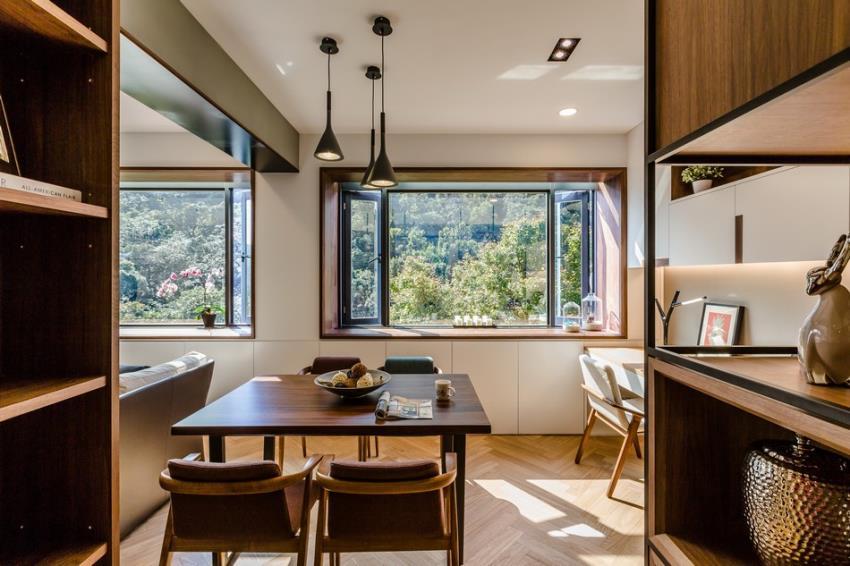 Потрясающий современный дизайн квартиры (1)