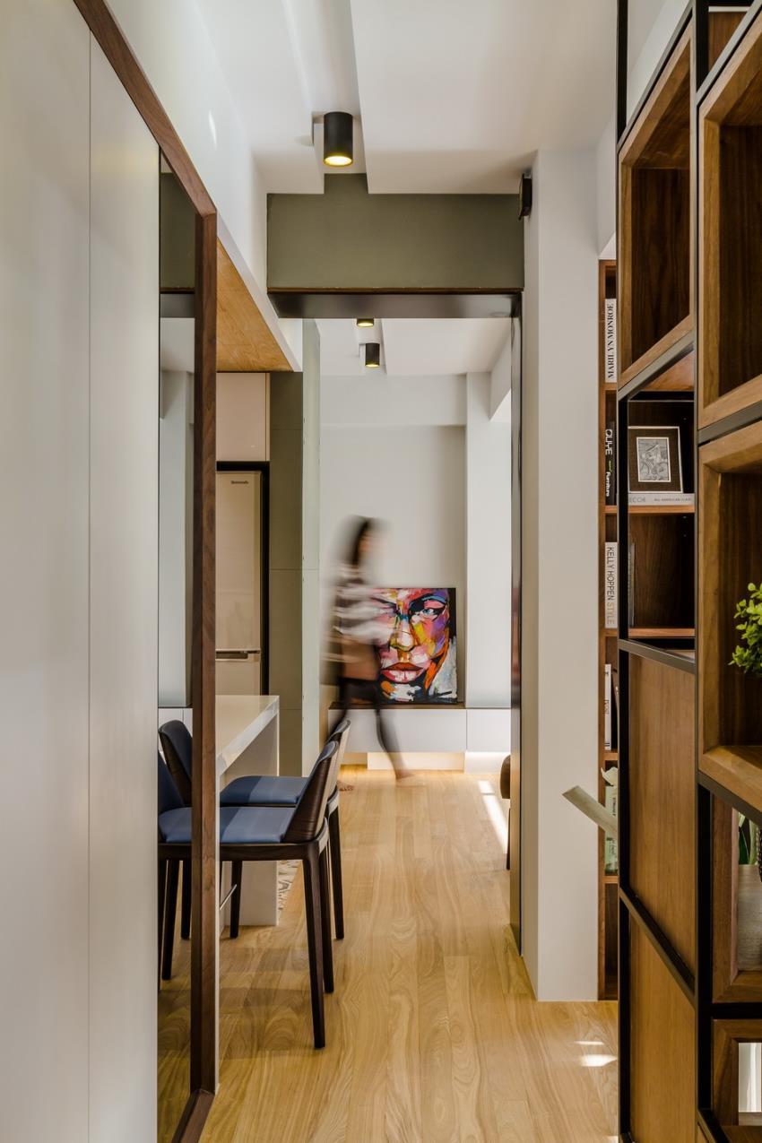 Потрясающий современный дизайн квартиры (12)