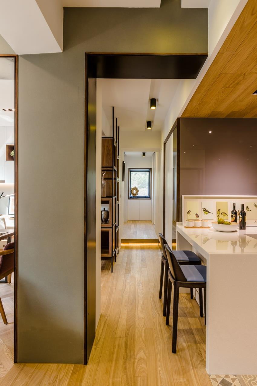 Потрясающий современный дизайн квартиры (13)