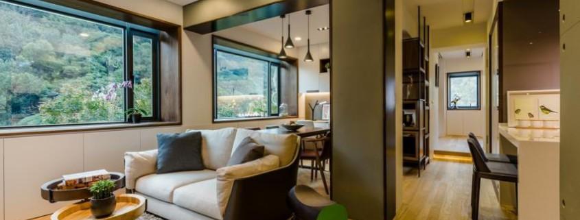 Потрясающий современный дизайн квартиры (2)