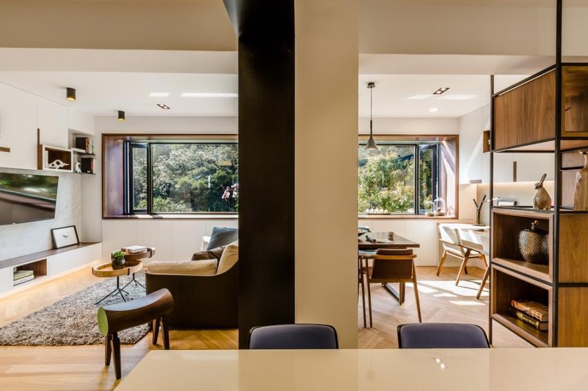 Потрясающий современный дизайн квартиры (3)