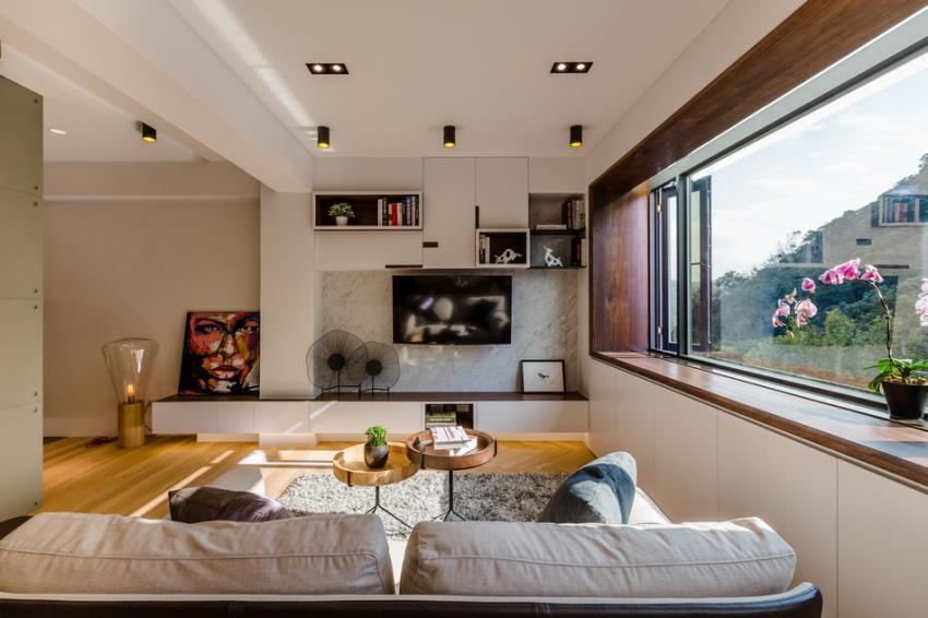 Потрясающий современный дизайн квартиры (4)