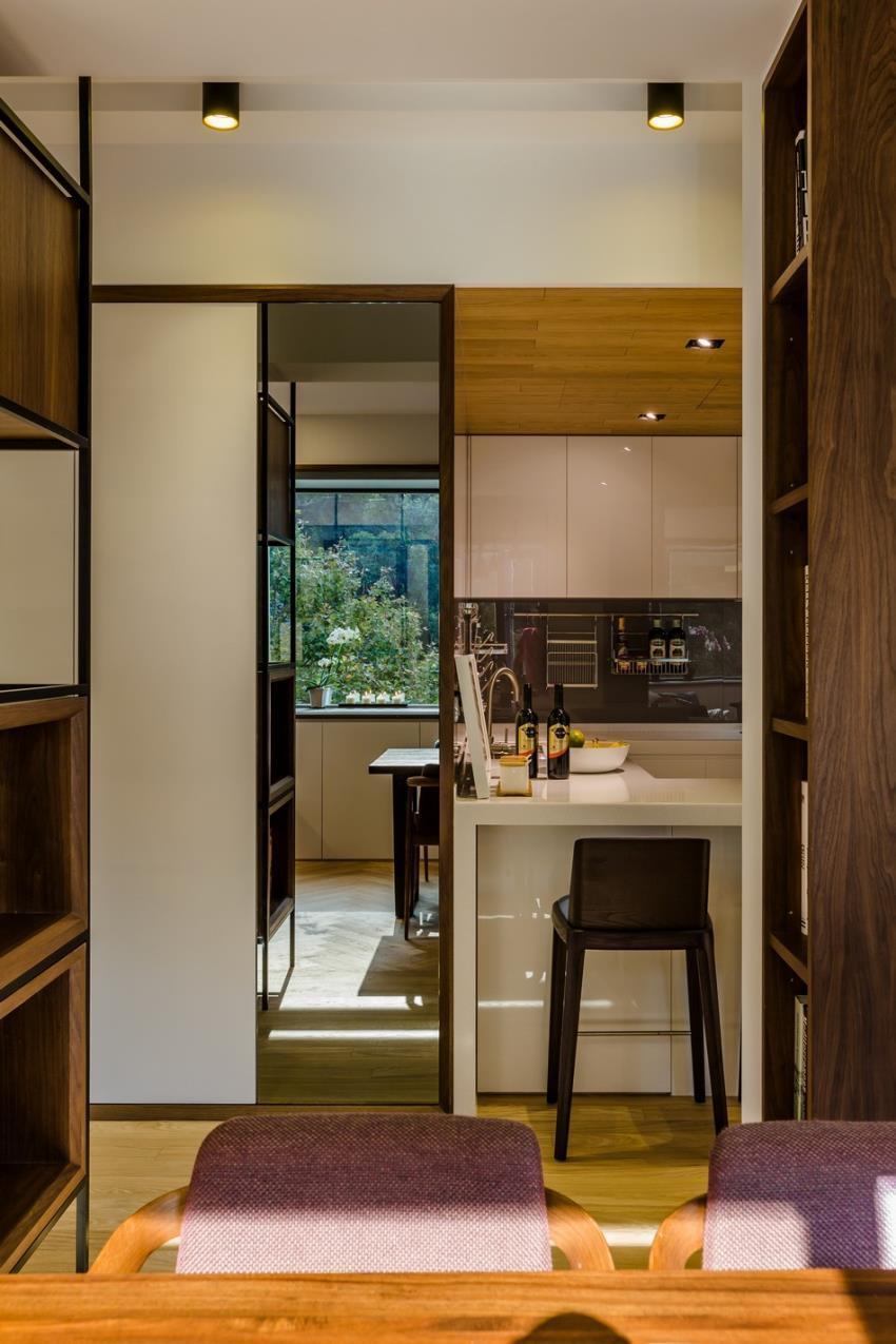 Потрясающий современный дизайн квартиры (5)