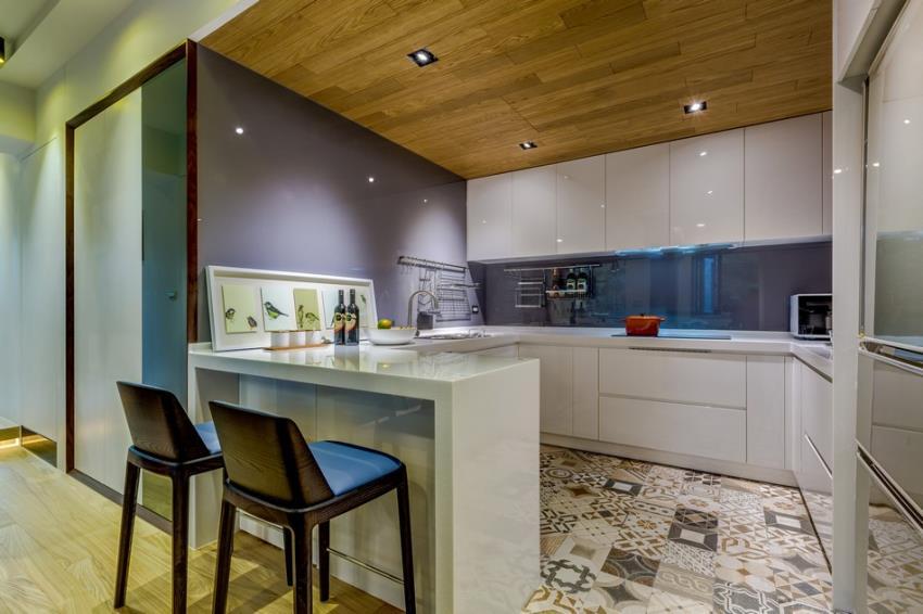 Потрясающий современный дизайн квартиры (6)
